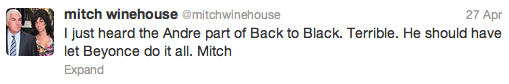 mitch winehouse tweet
