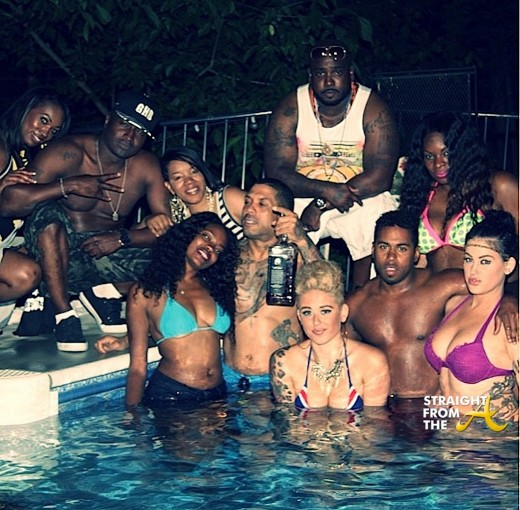 Benzino Pool Party StraightFromTheA
