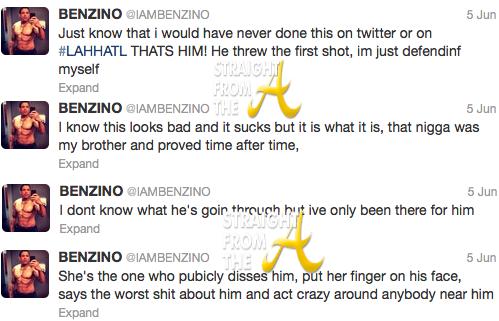 Benzino Tweets 1