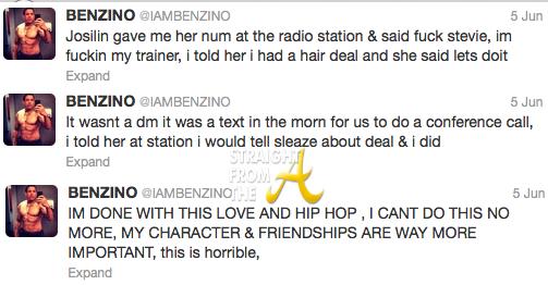 Benzino Tweets 3