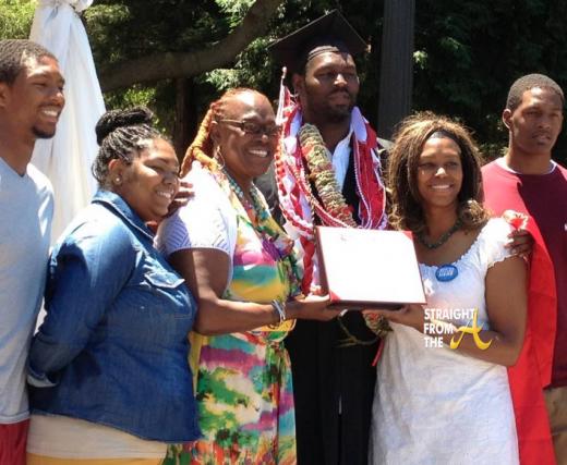 Bob Whitfield Graduates Stanford 061613-3