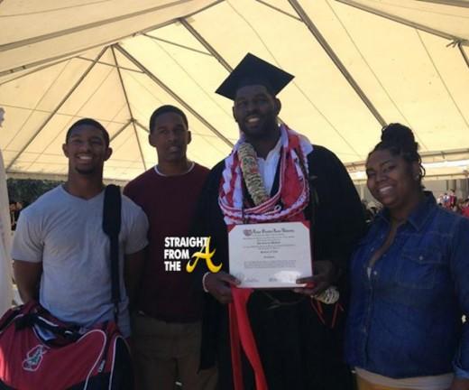 Bob Whitfield Graduates Stanford 061613-6
