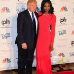 Donald Trump and Nana Meriwether 2013 Miss USA SFTA 1