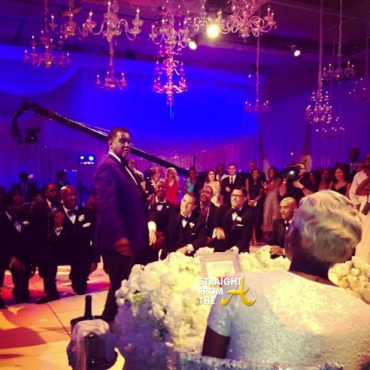 Greg Nene Leakes Wedding - Gift Presentation