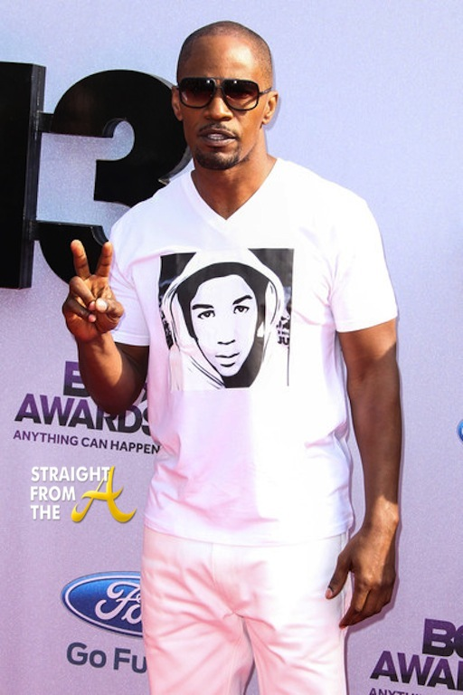Jamie Foxx 2013 BET Awards 1