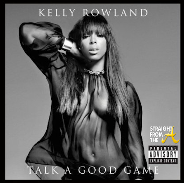 Kelly Rowland Talk A Good Game CD Cover