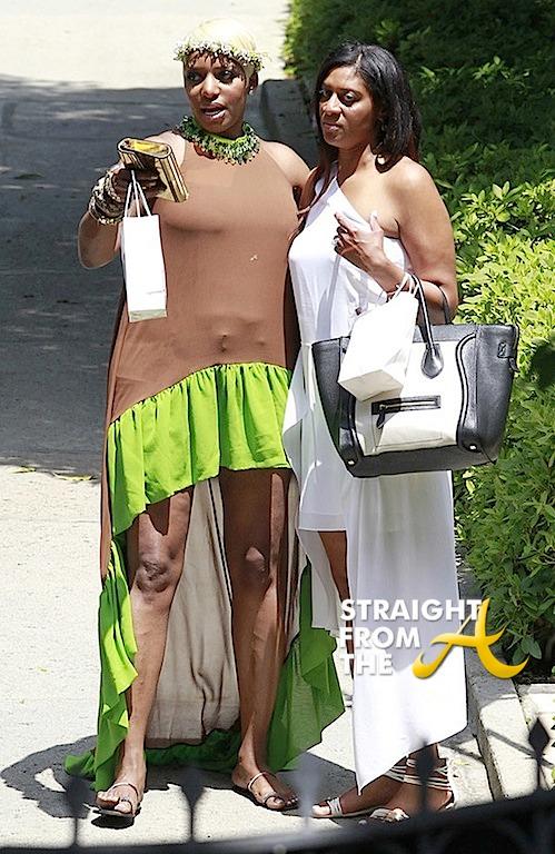 Nene Leakes Kim Kardashian Baby Shower StraightFromTheA 2