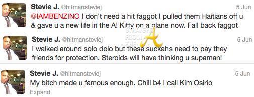 Stevie J Tweets 1