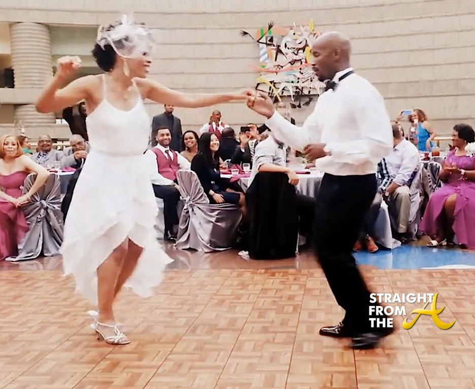 Another Amazing Wedding Reception Dance: Meet Dominique