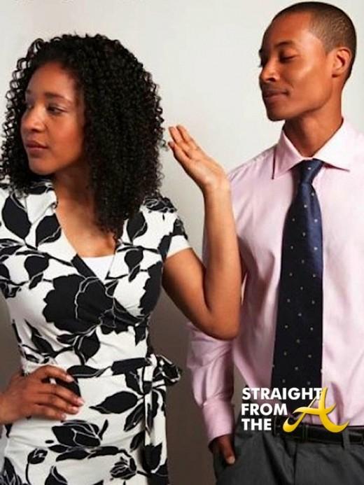 black couple break up