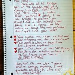 BUSTED!! One Man's Facebook Fail Sparks Hilarious Break Up Letter…