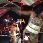 Foxy Brown Takes a Tumble… [VIDEO]