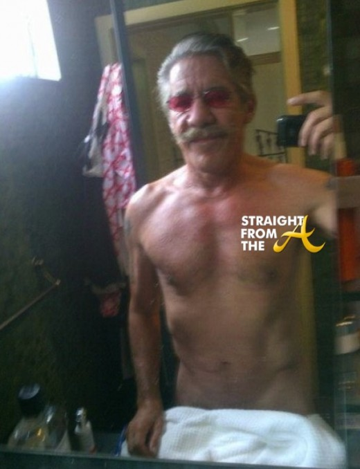 Geraldo Rivera Selfie Twitter SFTA