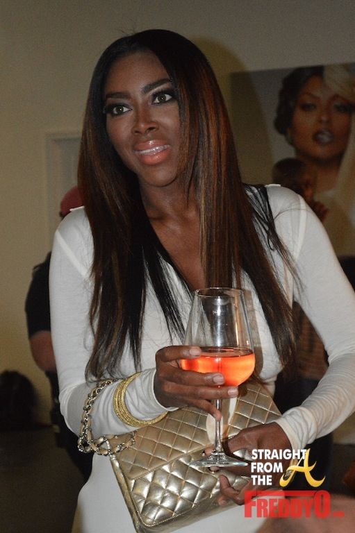 Kenya Moore RHOA White Party 1