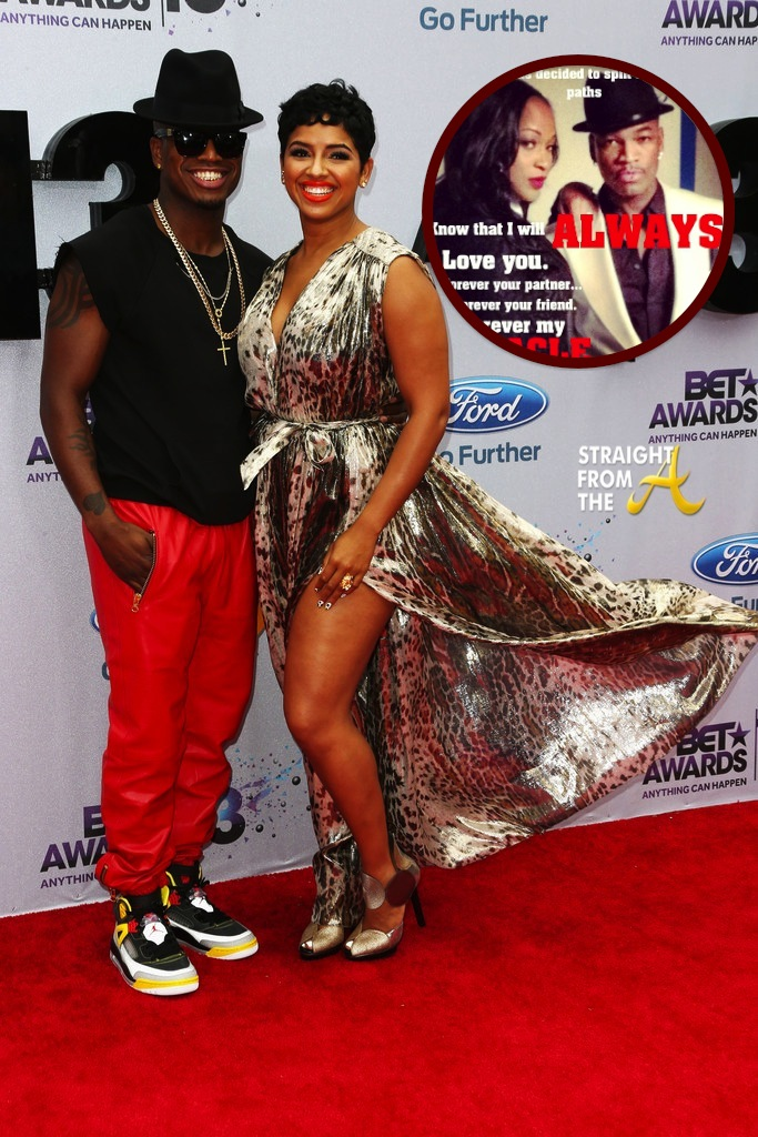 Ne Yo Breaks Up With Fiance Monyetta Shaw Via Instagram Hits 2013 BET Awards Red Carpet New Date PHOTOS