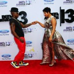 Ne-Yo Breaks Up With Fiance Monyetta Shaw Via Instagram, Hits 2013 BET Awards Red Carpet With New Date… [PHOTOS]