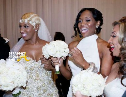 Nene Leakes Marlo Hampton -Wedding SFTA