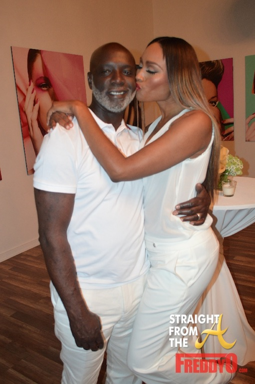 Peter and Cynthia RHOA White Party 4