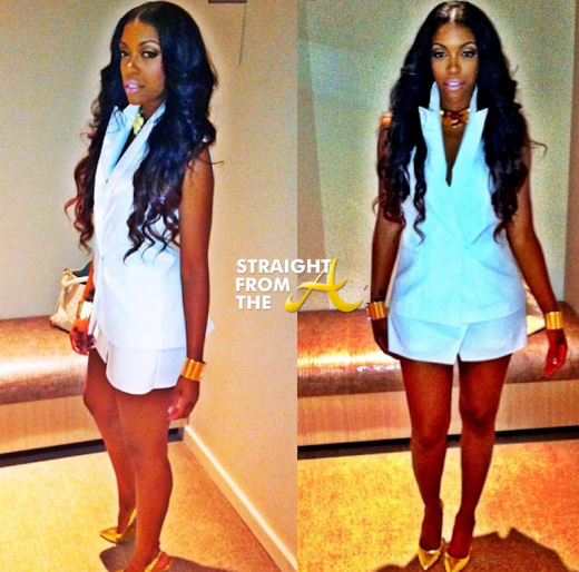 Porsha Stewart RHOA White Party