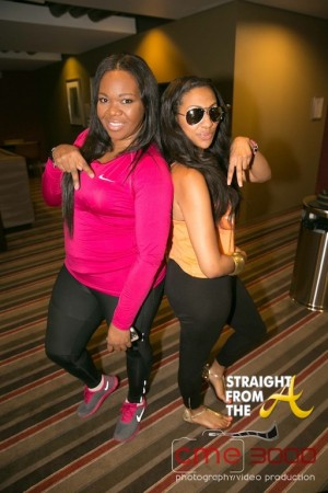 Michelle ATLien Brown and Mary Jane (Love & Hip Hop Atlanta)