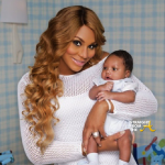 Tamar Braxton and Baby Logan 1