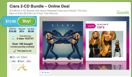 ciara groupon discount