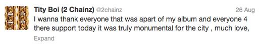 2chainz tweet99
