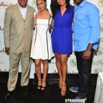 Sanaa Lathan, Regina Hall & Morris Chesnut Promote 'Best Man Holiday' At Bronner Hair Show… [PHOTOS]
