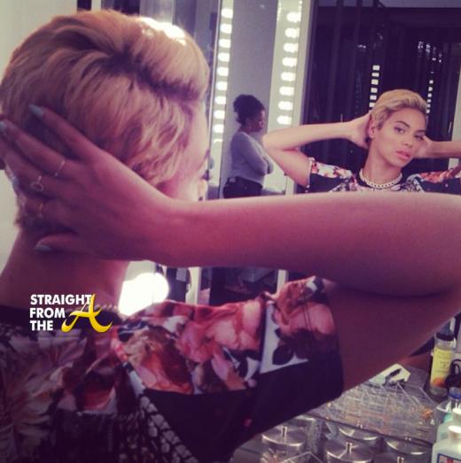 Beyonce Short Hair 1