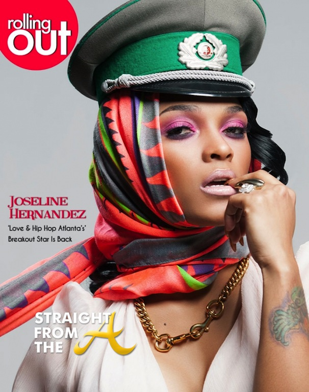 Joseline Hernandez Rolling Out Cover - Straight From The A ...  Joseline Hernan...