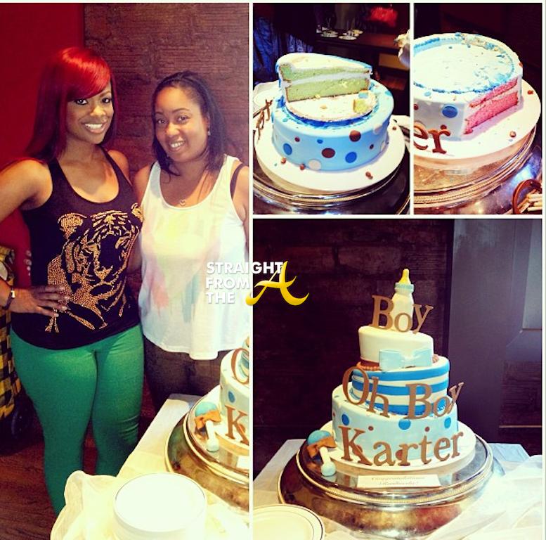 kandi rasheeda baby shower cakes