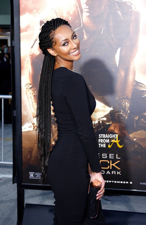 Keri Hilson Rocks Riddick Movie Premiere Red Carpet