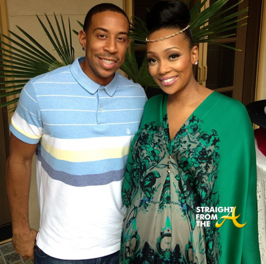 Ludacris and Monica - Baby Shower 2013