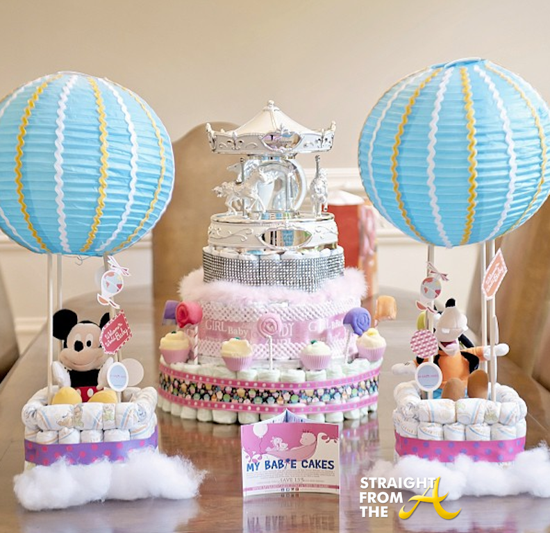 Monica Brown Baby Shower Cakes Straight From The A Sfta