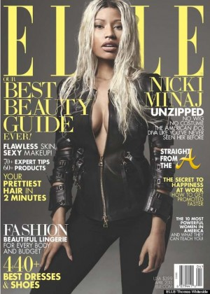 Nicki Minaj Elle Cover 2013