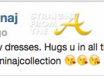 Nicki Minaj Tweet 549