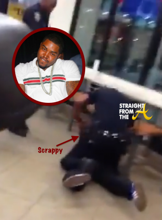 Scrappy Arrested August 2013