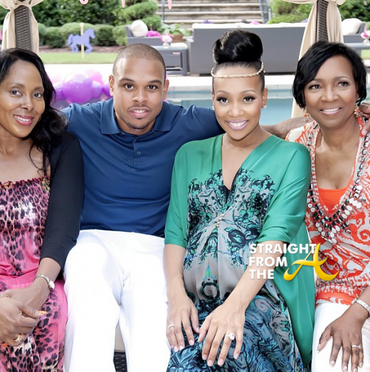 Shannon and Monica Brown with Mothers