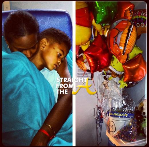 Tameka Raymond Cinco Hospital StraightFromTheA