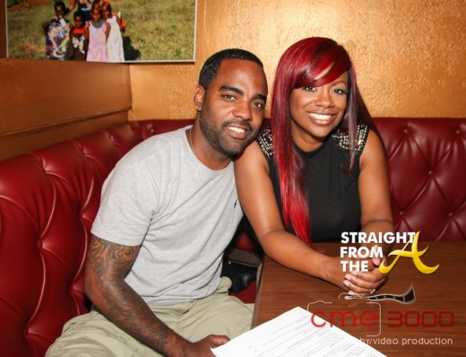 Todd Tucker and Kandi Burruss 1