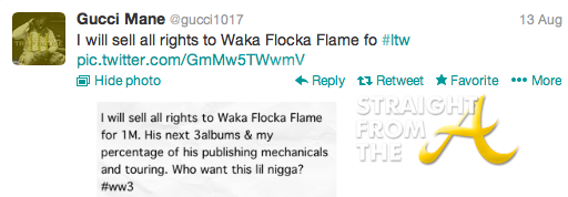 gucci waka tweet 2
