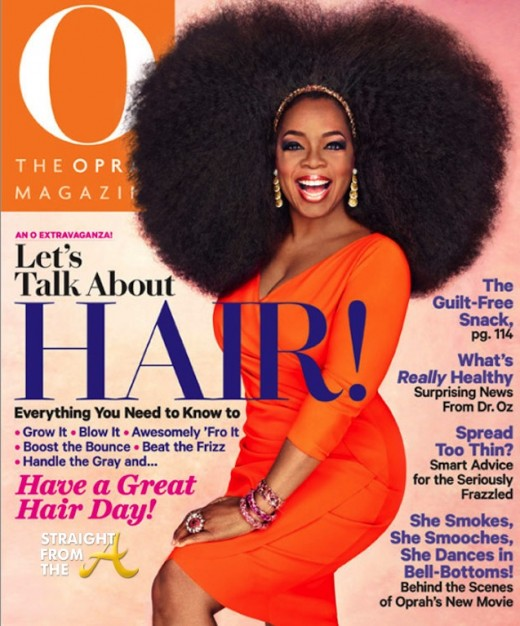 oprah magazine hair issue