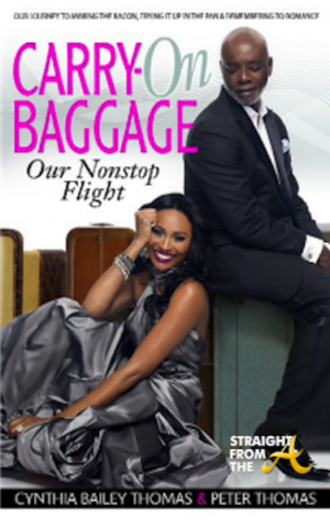 061713-celebs-celebrity-authors-cynthia-bailey-thomas-peter-thomas-carry-on-baggage