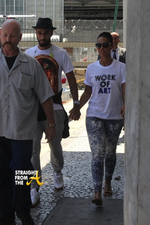 Alicia Keys Swizz Beats Brazil Straightfromthea 1
