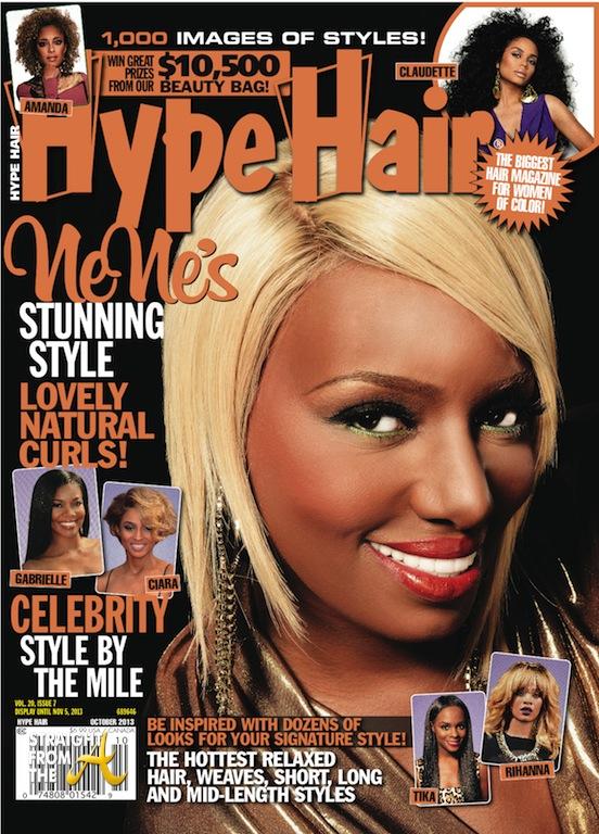 Nene Leakes\' Versatile Blonde Doo Covers TWO Hair Magazines ...
