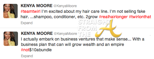 Kenya Moore Tweets
