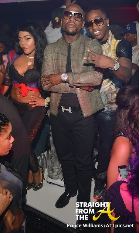 Lil Kim Floyd Mayweather 3