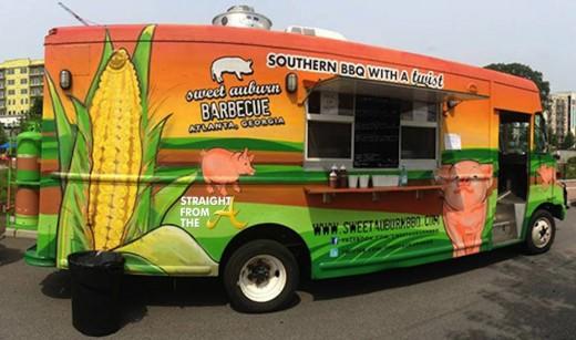 Sweet Auburn BBQ Truck Atlanta StraightFromTheA