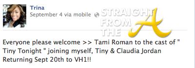 Trina Facebook 2013