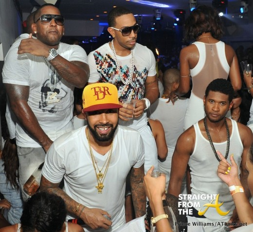 Usher Sweaty
